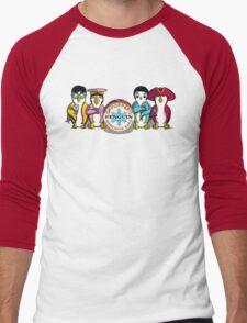 Sgt Poppers Penguin Marching Band Men's Baseball ¾ T-Shirt