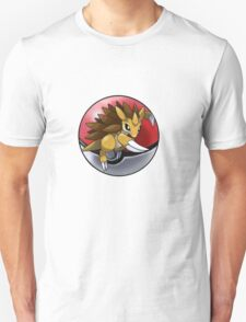 Sandslash pokeball - pokemon T-Shirt