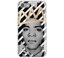 Silver Basquiat iPhone Case/Skin