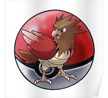 Spearow pokeball - pokemon Poster