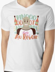 Pinot Noir Mens V-Neck T-Shirt
