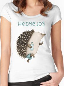 Hedgejog Women's Fitted Scoop T-Shirt