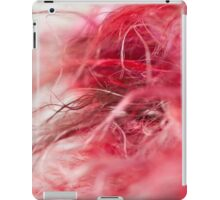 Hot Pink & Red Scarf iPad Case/Skin