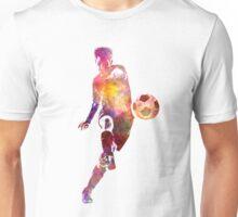 man soccer football player 10 Unisex T-Shirt