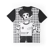 'Skull Man' graphic design by LUCILLE Graphic T-Shirt