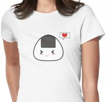 Kawaii Onigiri Womens Fitted T-Shirt