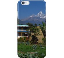 Vegetable Garden, Nepal iPhone Case/Skin