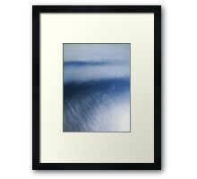 Blue decent Framed Print