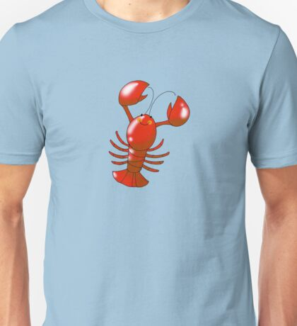 Cute red lobster Unisex T-Shirt