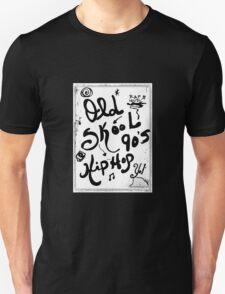 Rachel Doodle Art - Old-Skool 90's Hip-Hop T-Shirt