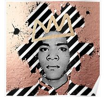 Copper Basquiat Poster