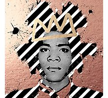Copper Basquiat Photographic Print
