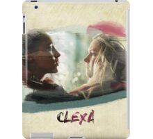 Clexa - The 100 - brush iPad Case/Skin