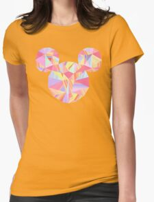 Sunset Pop Crystal Womens Fitted T-Shirt