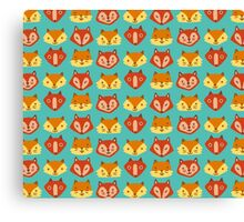 Foxes! Foxes! Foxes! Canvas Print