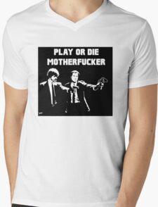 Lets play PULP FICTION Mens V-Neck T-Shirt
