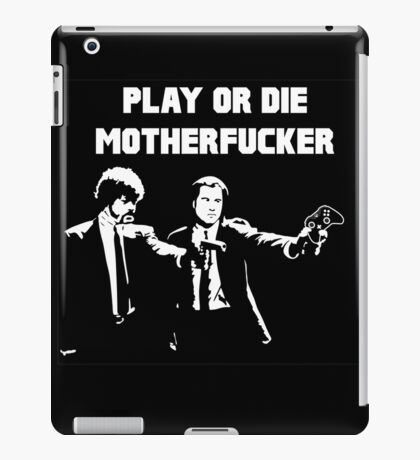 Lets play PULP FICTION iPad Case/Skin