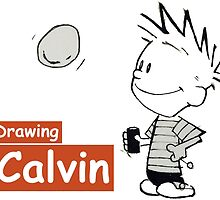 drawing calvin by danielklowor