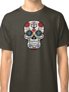 Souvenir from Mexico - Floral Skull Classic T-Shirt