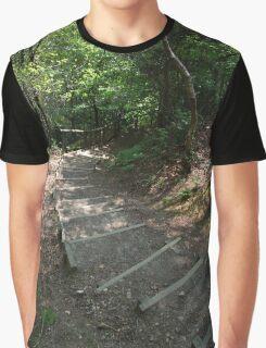 Walking down Leigh Hill Graphic T-Shirt