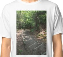 Walking down Leigh Hill Classic T-Shirt