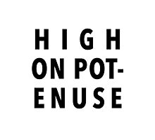 High On Potenuse – Key and Peele, Comedy Central Photographic Print