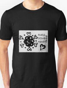 Rachel Doodle Art - Bless Your Heart T-Shirt
