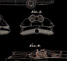 Batmobile Car Patent 1966 Sticker