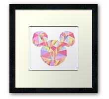 Sunset Pop Crystal Framed Print