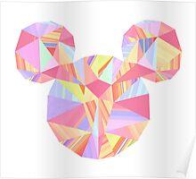 Sunset Pop Crystal Poster