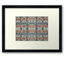 ABSTRACT 815 Framed Print