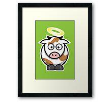 Holy Cow II Framed Print