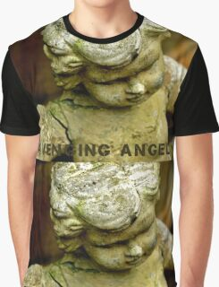 Avenging Angel (with lettering) Graphic T-Shirt