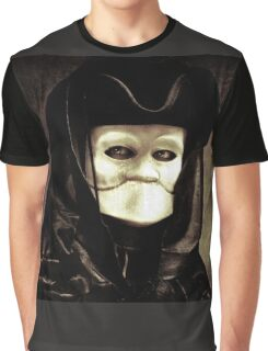 Spooky mask of Venetian tradition Graphic T-Shirt
