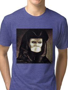 Spooky mask of Venetian tradition Tri-blend T-Shirt