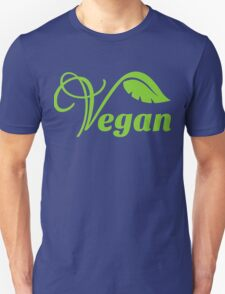 Vegan, Green Design Unisex T-Shirt