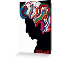 Bob Dylan icon Greeting Card