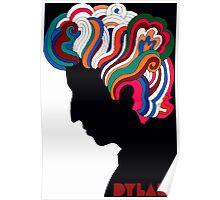 Bob Dylan icon Poster