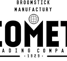 Harry Potter - Comet Trading Company b/w by erfinder