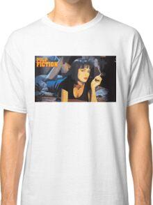 Pulp Fiction Mia Wallace Classic T-Shirt