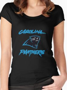 Carolina Panthers Women's Fitted Scoop T-Shirt