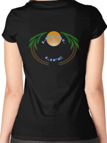 local life 805 t-shirt Women's Fitted Scoop T-Shirt