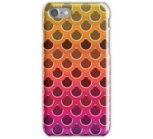 Colorful fish scales iPhone Case/Skin