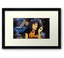 Mia Wallace Pulp Fiction Framed Print
