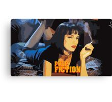 Mia Wallace Pulp Fiction Canvas Print