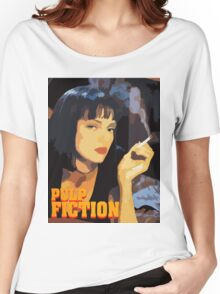 Mia Wallace Pulp Fiction Women's Relaxed Fit T-Shirt