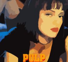 Mia Wallace Pulp Fiction Sticker