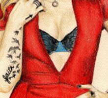 Demi for Cosmopolitan Sticker