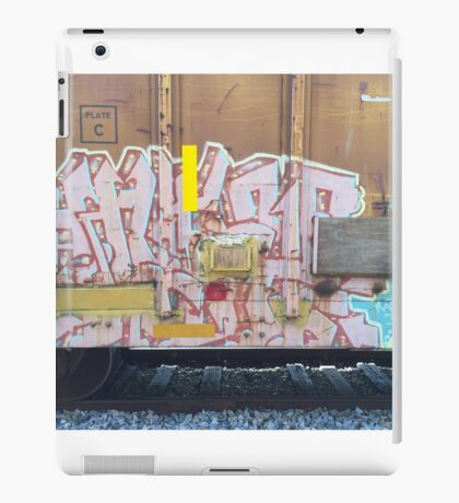 Train Graffiti Abstract iPad Case/Skin