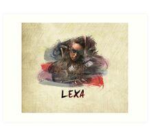 Lexa - The 100 -1 Art Print
